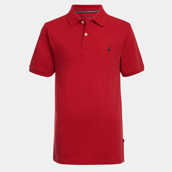 TODDLER BOYS' DECK POLO (2T-4T) - Melonberry