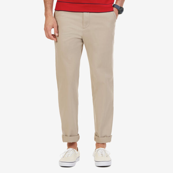 Big & Tall True Khaki Flat Front Pants - True Khaki