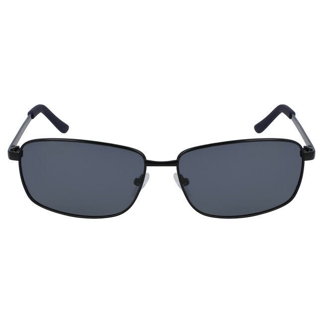 Rectangular Sunglasses with Matte Frame,Black Onyx,large