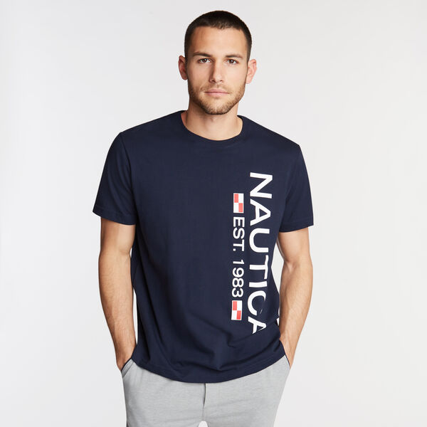 Logo Sleep T-Shirt - Navy