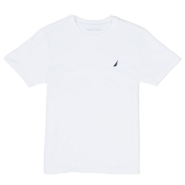 BOYS' COAST CREWNECK T-SHIRT (8-20) - White