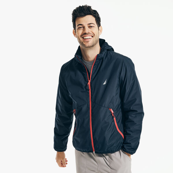 NAVTECH PACKABLE JACKET - Navy