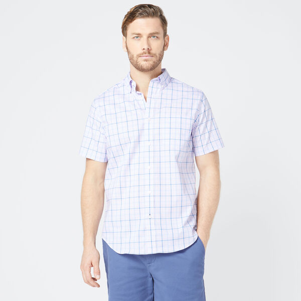 CLASSIC FIT WRINKLE RESISTANT PLAID SHIRT - Lavendula