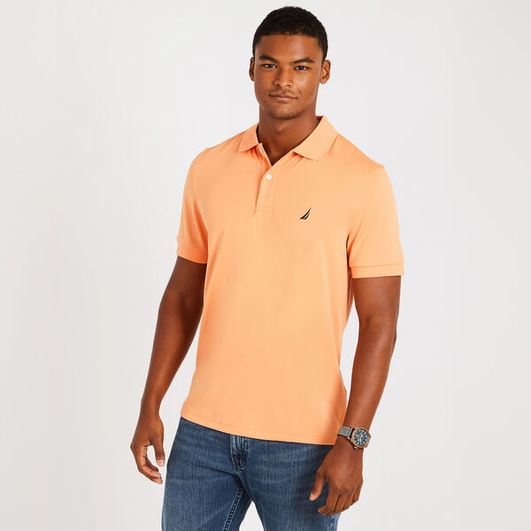 Classic Fit Performance Polo - Orange