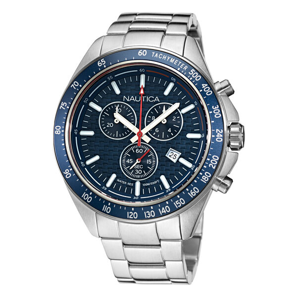 OCEAN BEACH CHRONOGRAPH STAINLESS STEEL WATCH - Multi