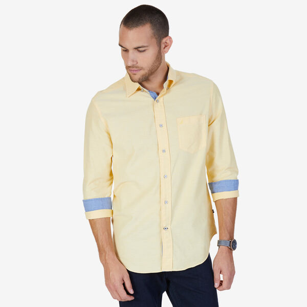 TWILL OXFORD SHIRT - Corn