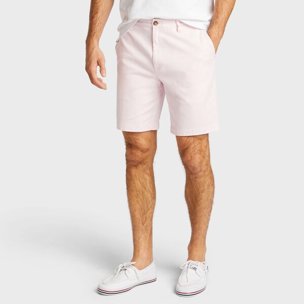 "Big & Tall Flat Front Deck Shorts - 8.5"" Inseam - Cradle Pink"