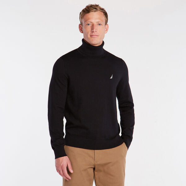 NAVTECH TURTLENECK SWEATER - True Black
