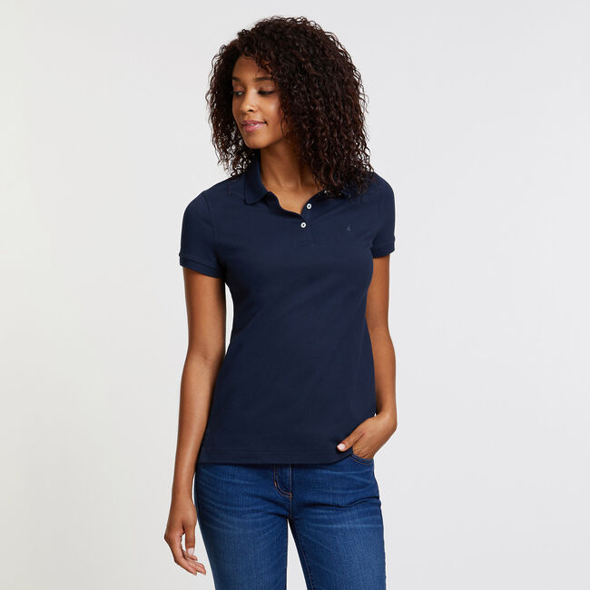 8b5a582f2 Short Sleeve Classic Fit Anchor Polo,Workshirt,large