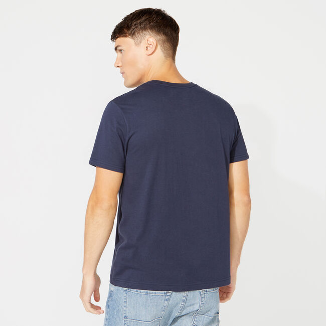 REGATTA GRAPHIC T-SHIRT,Navy,large