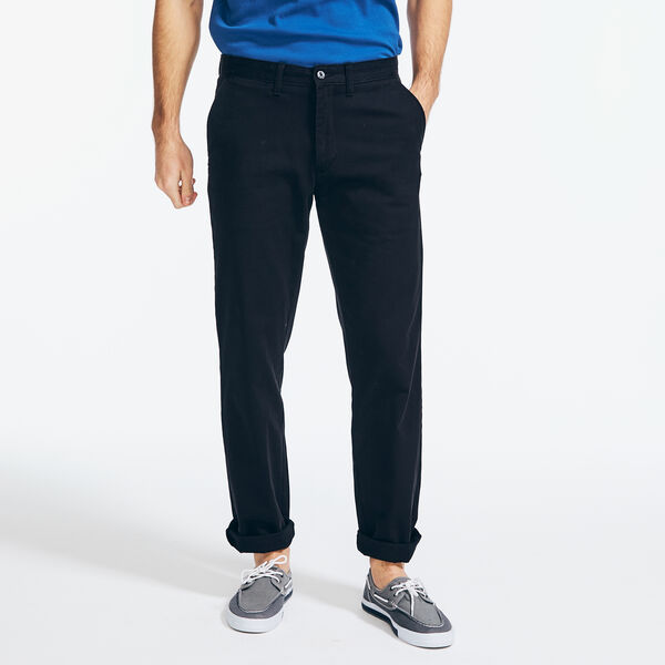 CLASSIC FIT WRINKLE-RESISTANT DECK PANT - True Black