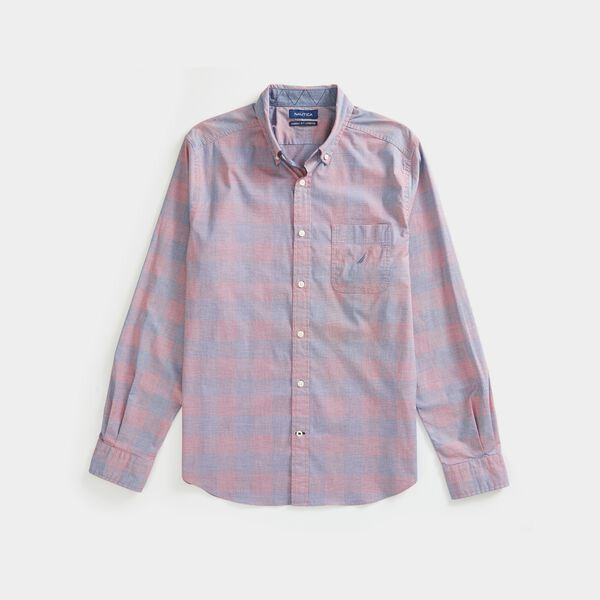 CLASSIC FIT PLAID SHIRT - Lotus