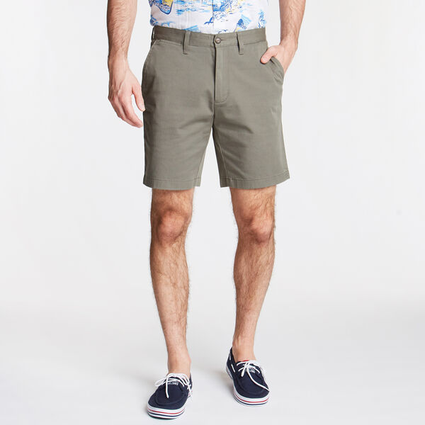 "8.5"" CLASSIC FIT DECK SHORTS WITH STRETCH - Hillside Olive"