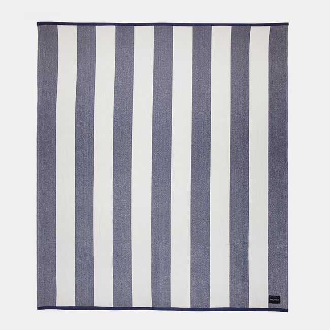 CABANA STRIPE WOVEN TOWEL FOR 2,Ice Blue,large