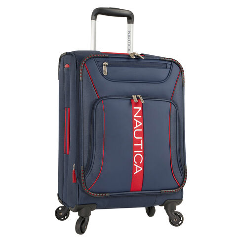 "Bounty 19"" Expandable Spinner Luggage - Navy"