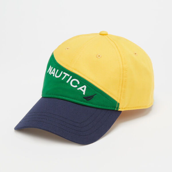 COLORBLOCK LOGO CAP - Light Sonic