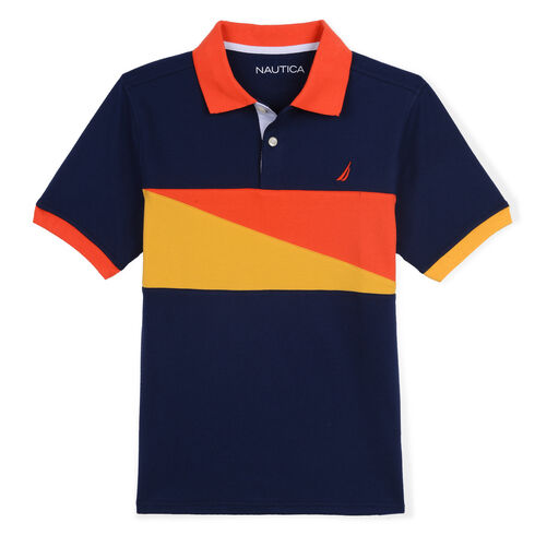 Toddler Boys' Gerald Polo (2T-4T) - Oyster Bay Blue