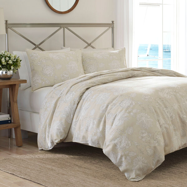 Sandy Creek Twin Duvet Set - Khaki