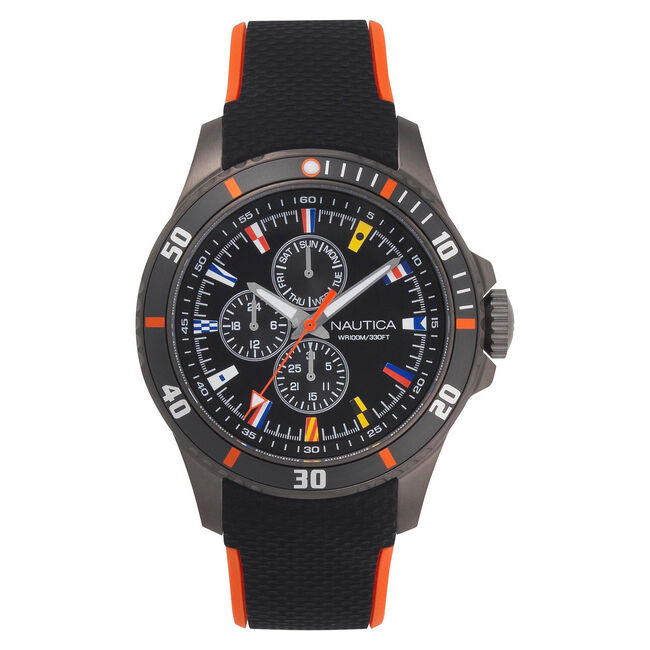 Freeboard Multifunction Watch with Sport Strap,Multi,large