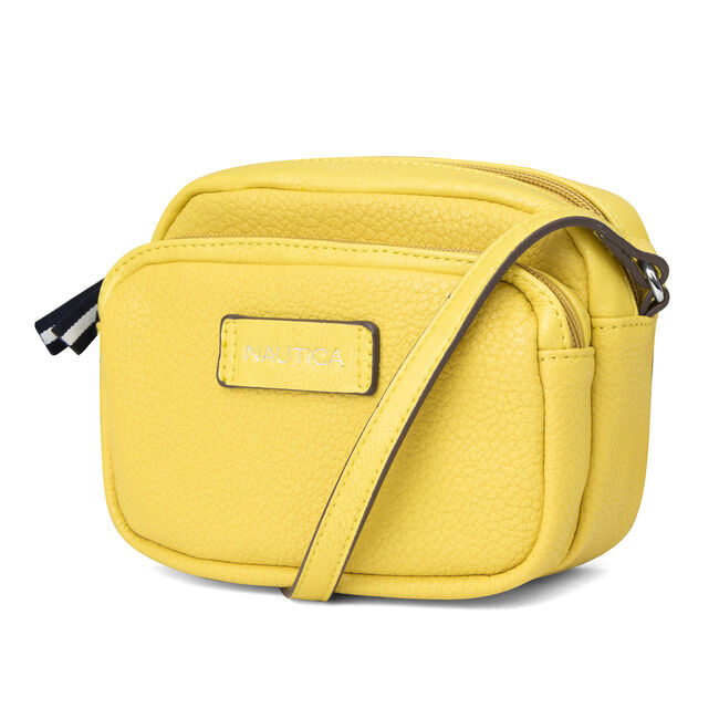 Trader's Cove Mini Crossbody,Yellow,large