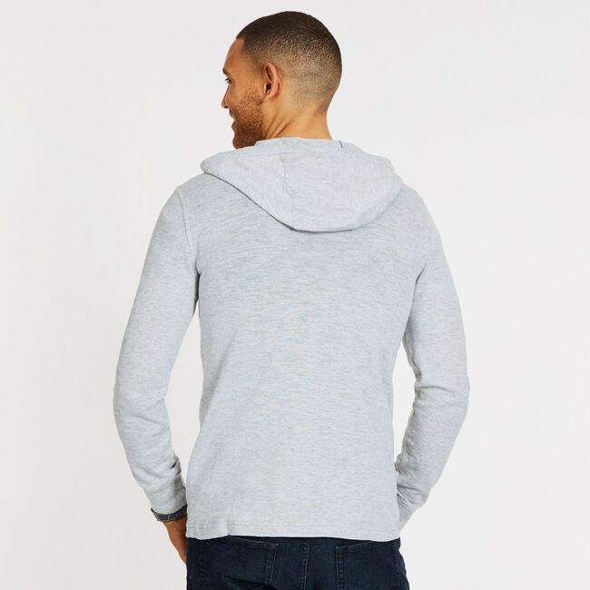 Pullover Beach Hoodie,Grey Heather,large