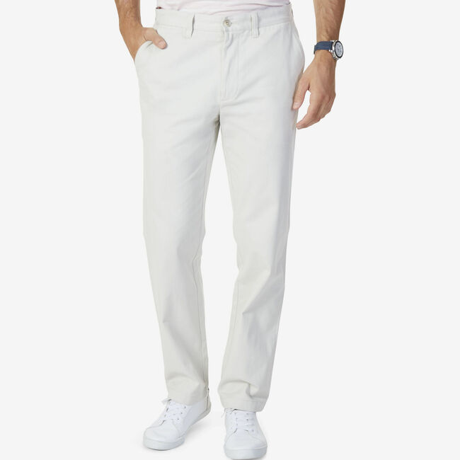 Classic Fit Performance Deck Pant,Nautica Stone,large