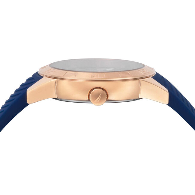 Long Beach Water Resistant Watch,Navy,large