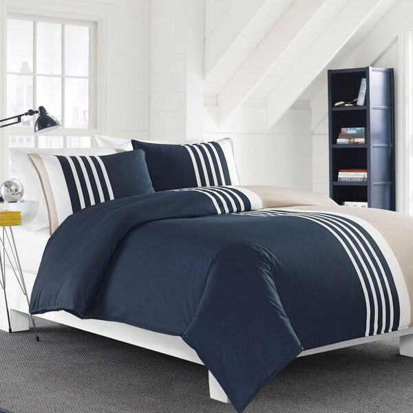 Aport Comforter Set - Pure Dark Pacific Wash