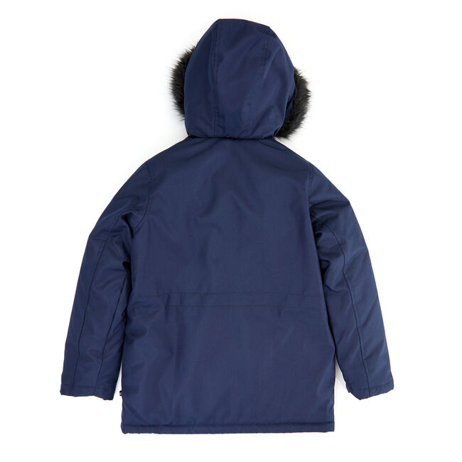 Toddler Boys' Expedition Hooded Snorkel Coat with Fur (2T-4T),Aquadream,large