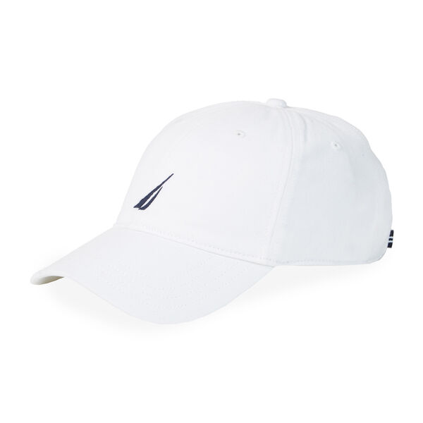 Chino Twill J-Class Cap - Antique White Wash