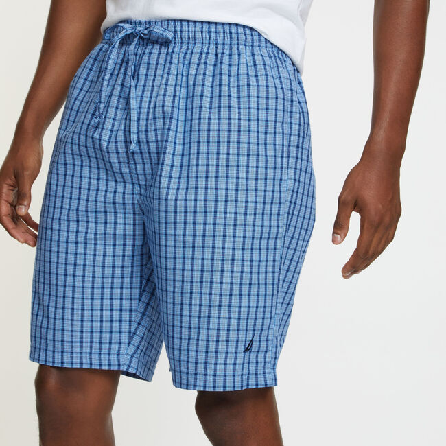 Sleep Shorts - Plaid,Aquasplash,large