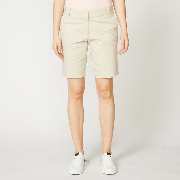 """10"""" CLASSIC FIT BERMUDA SHORTS - Oyster Bay Heather"""