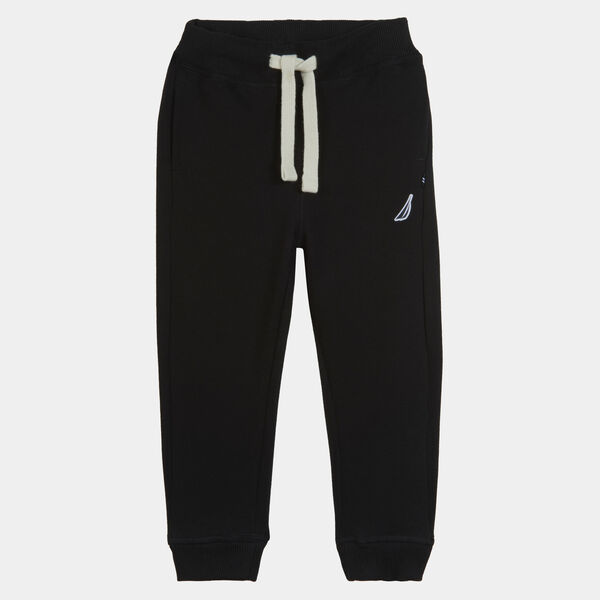BOYS' J-CLASS FLEECE JOGGER (8-20) - Black