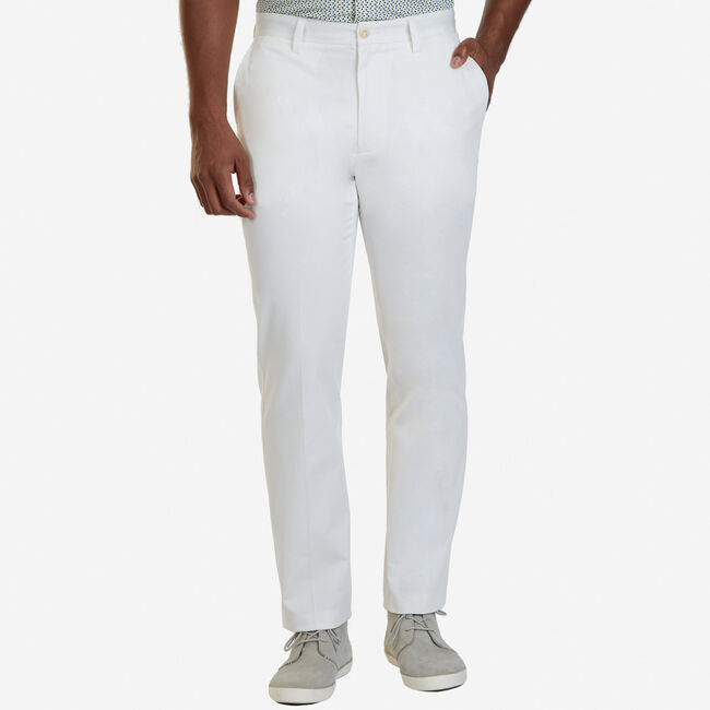 Bedford Slim Fit Pants,Marshmallow,large