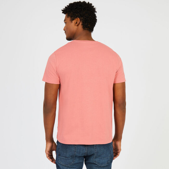 Big & Tall Signature Graphic T-Shirt,Pale Coral,large