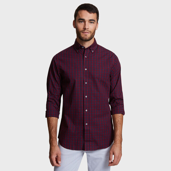 CLASSIC FIT OXFORD SHIRT IN PORT - Sailor Red