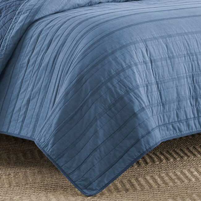 Buchanon Quilt,Navy,large