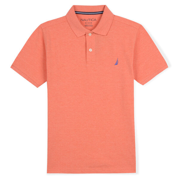 BOYS' DECK POLO (8-20) - Cutty Orange