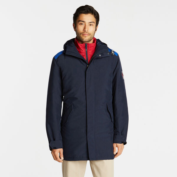 3-IN-1 PARKA WITH TEMPASPHERE - Pure Dark Pacific Wash