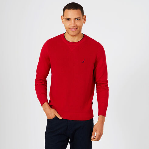 Navtech Performance Crewneck Sweater - Nautica Red