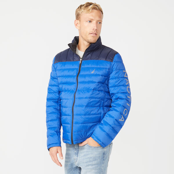 LIGHTWEIGHT TEMPASPHERE REVERSIBLE JACKET - Bright Cobalt