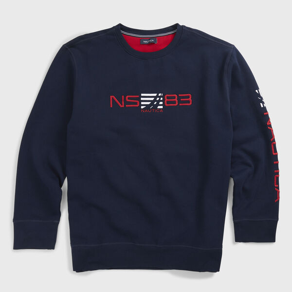Big & Tall NS83 Graphic Sweatshirt - Navy