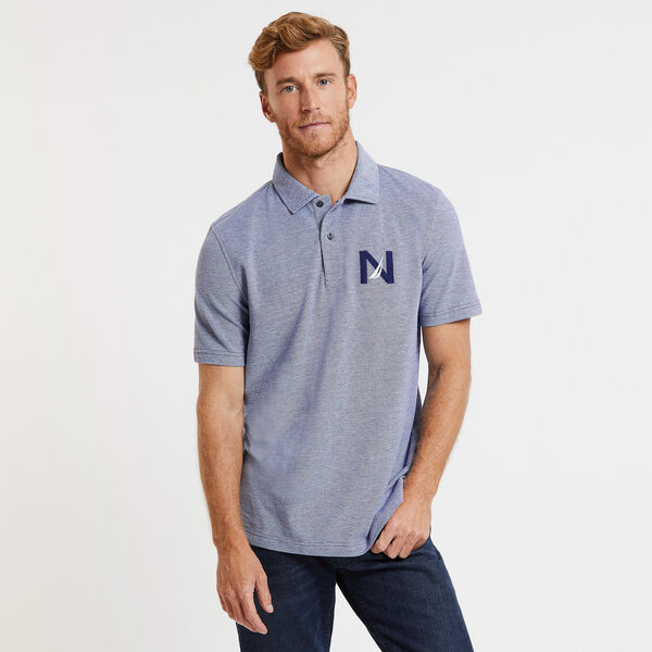 Kailua Short Sleeve Classic Fit 'N' Logo Polo  - Monaco Blue