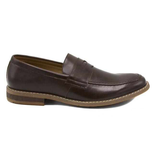 Elias Loafer in Smooth Chocolate,Chocolate,large
