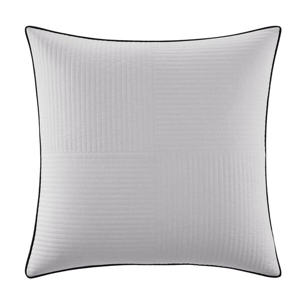 Eldridge Euro Pillow Sham - Antique White Wash