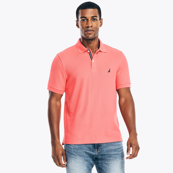 CLASSIC FIT PERFORMANCE POLO - Persian Red