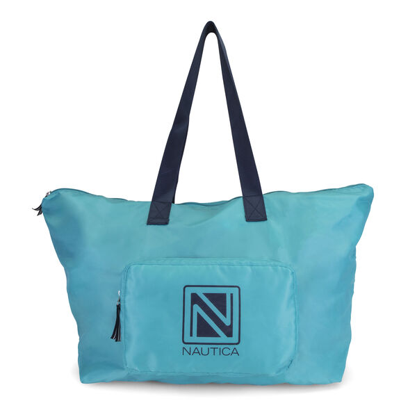 New Tack Packable Large Tote - Turquoise
