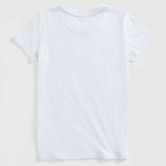 SUSTAINABLY CRAFTED OCEANS FOR LIFE GRAPHIC T-SHIRT,Bright White,large