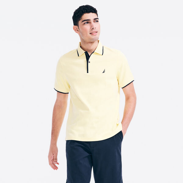 CLASSIC FIT J-CLASS DECK POLO - Corn