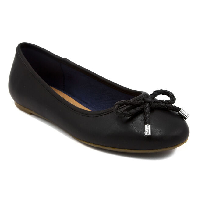 Solana Ballet Flats,True Black,large